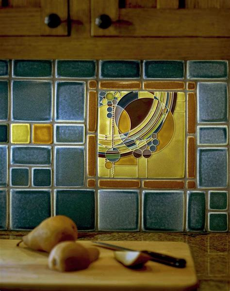 motawi tile backsplash march balloons backsplash detail frank lloyd wright