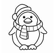 Christmas Penguin Coloring Pages – AZ