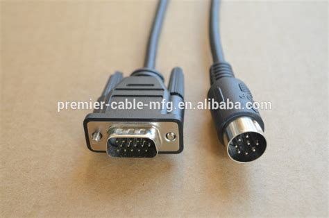 Kabel Vga 15 Pin To S 8 Pin 12 Meter 1 hd15 to mini din 9 minidin9 adapter cable vga buy hd15