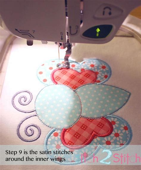 embroidery applique tutorial embroidery appliqu 233 tutorial and free design
