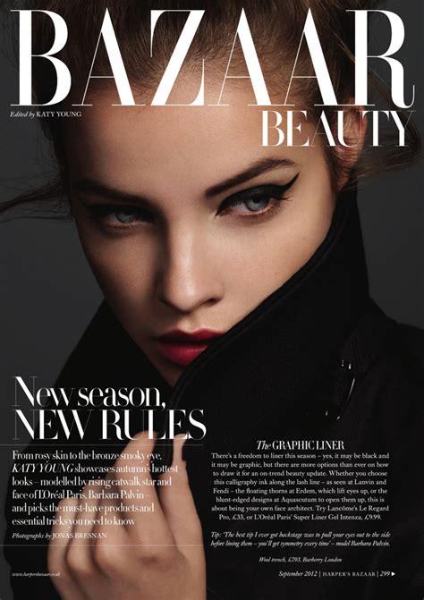In Harpers Bazaar by Barbara Palvin For S Bazaar Uk