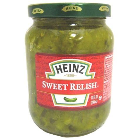 heinz sweet relish cucumber relish buy online authentic american food uk europe