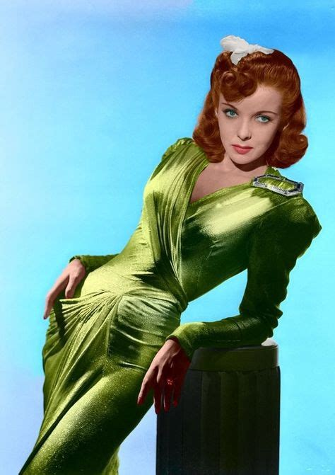 red head actress from 1940s ladies of stage screen on pinterest actresses academy