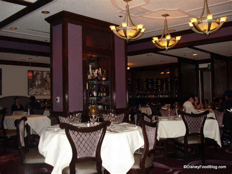 room 55 restaurant review disneyland hotel s steakhouse 55 the disney food