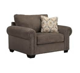 isaiah chair and a half ottoman set 2pc contemporary