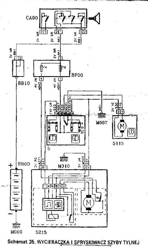 tylna wycieraczka peugeot 306 elektroda pl