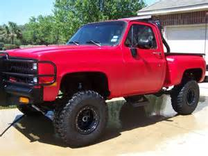 sell used bad a 1981 chevy truck rhino inside and out