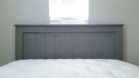 homemade queen headboard 25 best ideas about painted wood headboard on pinterest