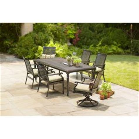 Martha Stewart Living Pembroke 7 Piece Patio Dining Set Martha Stewart 7 Patio Dining Set
