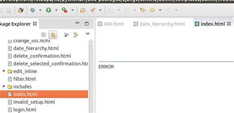 django tutorial base html django eclipse luna pydev 3 8 doesn t show admin