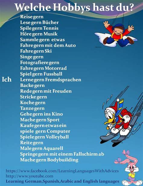 Töff Deutsch by 176 Besten Němčina Bilder Auf Pinterest Deutsch Lernen