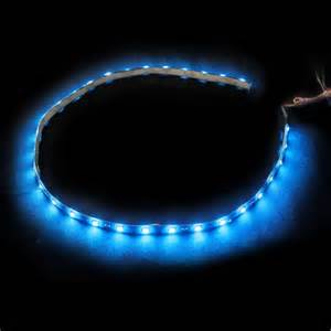 Grill led lights blue car truck grille kit 2 piece bright led strip