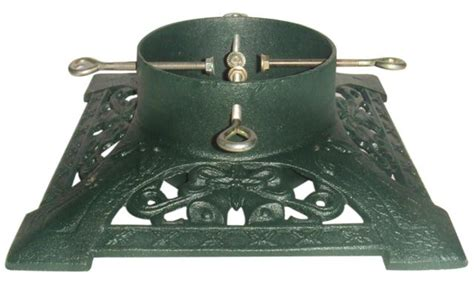 heavy cast iron christmas tree stand green cast iron tree stand scottish trees