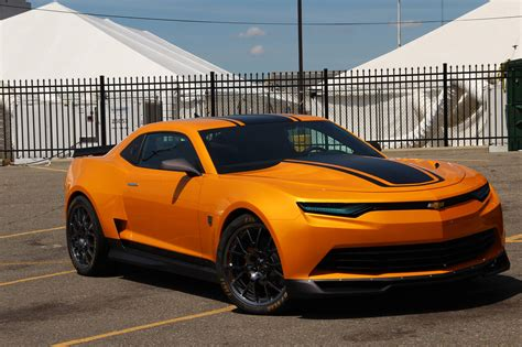 first chevy car transformers 4 bumblebee camaro spotted on set pics and