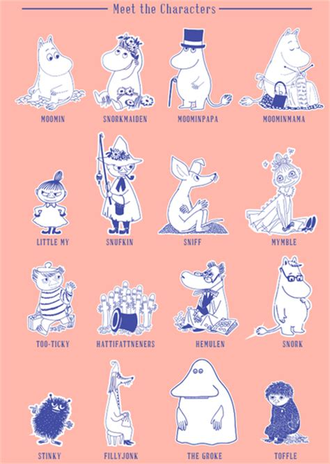 moomin wall stickers names wall stickers best free home design idea