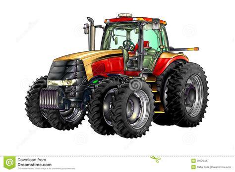 si鑒e de tracteur agricole de couleur d illustration de tracteur agricole