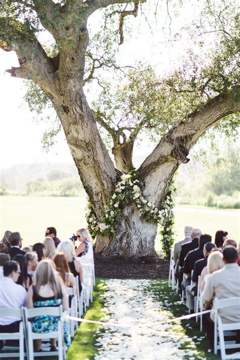 Chic Rustic Glam Wedding   Wedding Ceremony Ideas