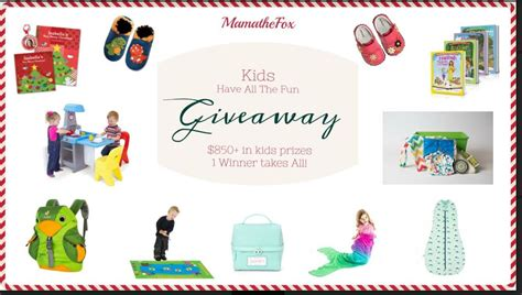 Kid Giveaways - giveaway kids toys