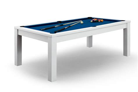 table billard blanc billard convertible en table 224 manger blanche billards defaistre