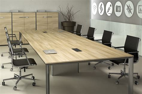 Meeting Desk by Rectangular Meeting Table Meeting By Tecnitalia