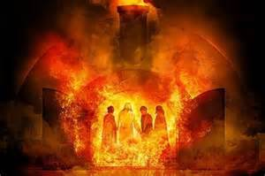 Walking in the midst of the fire angelic encounters of the bible