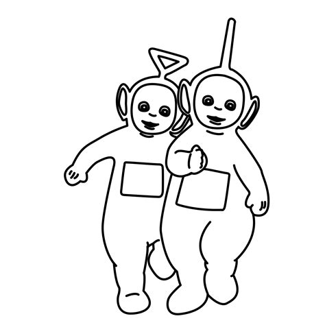 Free Printable Teletubbies Coloring Pages For Kids Teletubbies Coloring Page