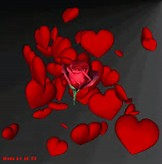 Animated Hearts and Roses Colors