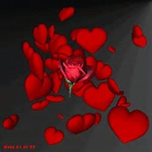 Animated Roses and Hearts