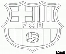 FC Barcelona Coloring Pages
