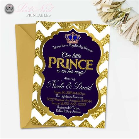 printable royal invitation 31 best images about royal prince themed baby shower diy