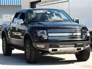 2010 2014 ford raptor front grille polished with brushed