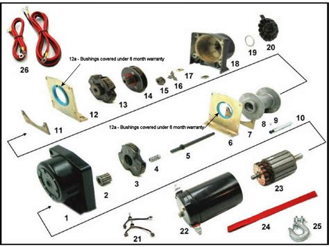 warn atv winch wiring diagram for polaris get free image
