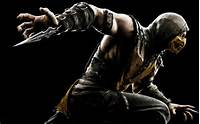 Mortal Kombat X Scorpion Wallpapers  HD