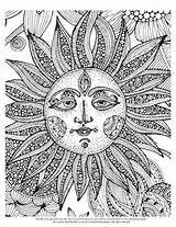 Showing Gallery For Trippy Sun Coloring Pages