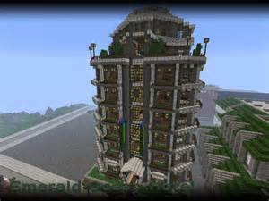 Emerald ocean hotel minecraft project