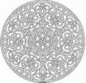 Printable Coloring Pages Detailed Geometric