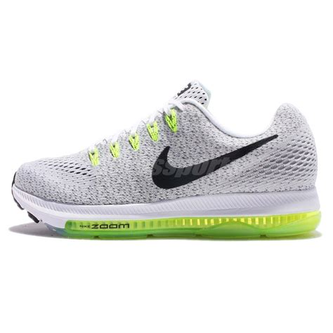 all white womens nike running shoes wmns nike zoom all out low white volt running shoes