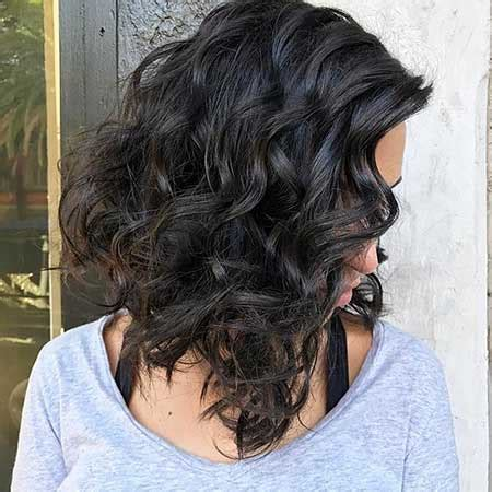 curly lob haircut popular layered haircut solutions for curly hair