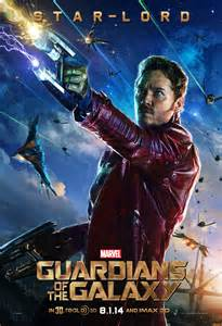 Star lord drax in new guardians of the galaxy posters