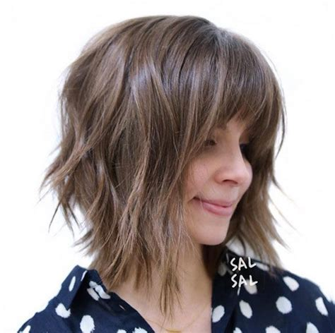 choppy bob hairstyles with a fringe 60 popular choppy bob hairstyles shaggy bob shaggy and