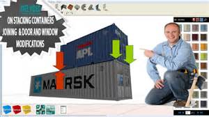 Container homes shipping container homes stacking joining and side