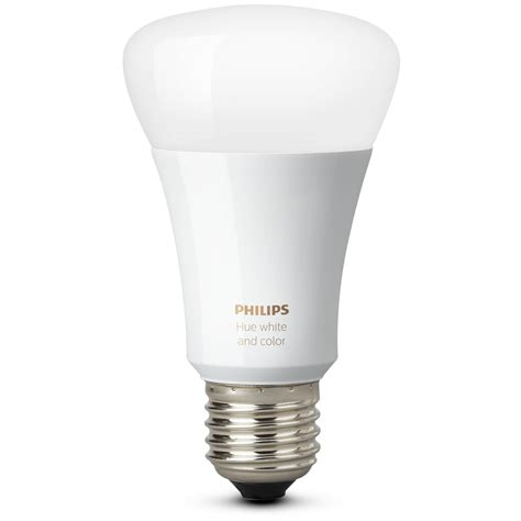 philips 468058 hue white a19 light bulbs 3 pack philips hue white and color ambiance a19 single