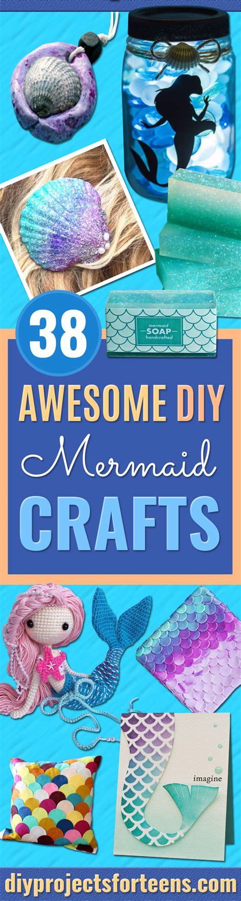 diy awesome crafts 38 awesome diy mermaid crafts 2 diy projects for