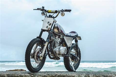 Suzuki Scrambler Motorcycle Suzuki Gn250 Scrambler By Purpose Built Moto Bikebound