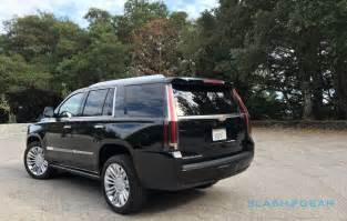 Cadillac Escalade Platinum Review 2016 Cadillac Escalade Platinum Review Slashgear