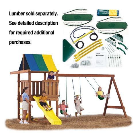 swing n slide wrangler swing n slide playsets do it yourself wrangler custom