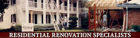 remodeling contractor new orleans berthelot construction