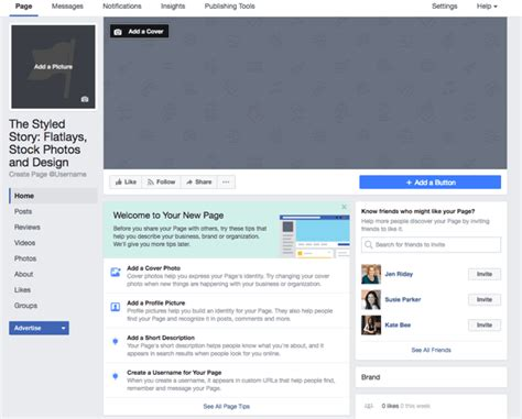 fb page how to build a facebook page for business a guide for