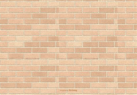 Brick By Brick brown brick pattern background free vector