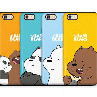 qoo  bare bears case mobile accessories
